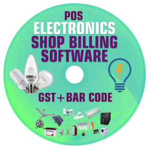 Electronics Store Management Software (GST) POS and Billing System