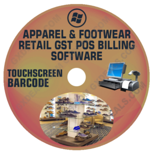 Apparel and Footwear Account Billing Software Free Retail GST Version