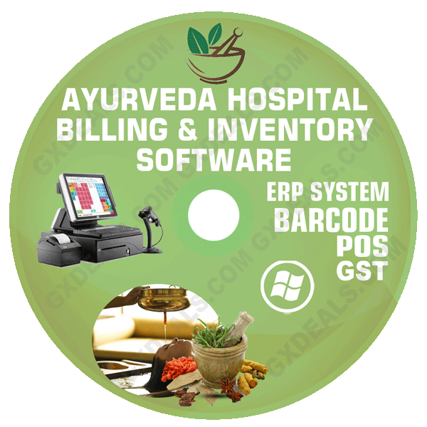 Ayurveda Hospital Management Software (GST) with ERP & POS System