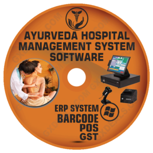 Ayurvedic Clinic Management Software (GST) Best ERP and POS System