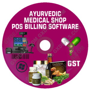 Ayurveda Billing Software for Medical Store (GST) with Advanced Featuresoftware ( GST )