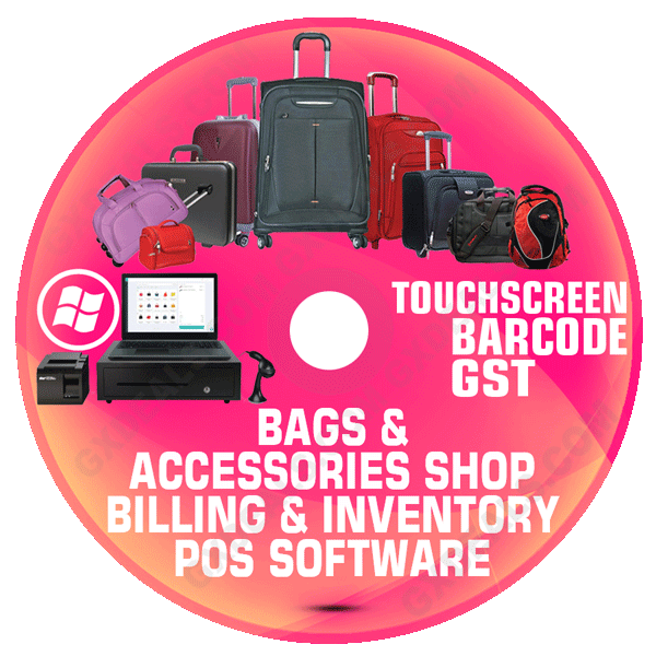 Bags Shop Billing Software Free Download   Demo Available with No AMC