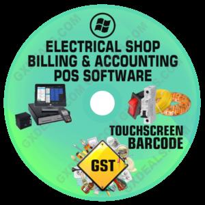Electrical Shop Billing Software & Inventory Management GST Version