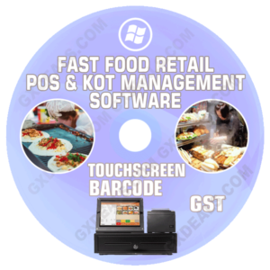 Fast Food POS Software | Quick Service Billing and Accounting System