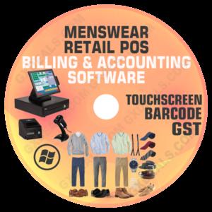 Readymade Garment Shop Billing Software for Mens Wear Free Download