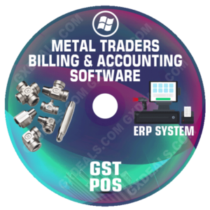 Metal Trading Software GST for Billing and Accounting Free Download